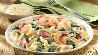 Shrimp Alfredo (Karidesli Alfredo Sosu)