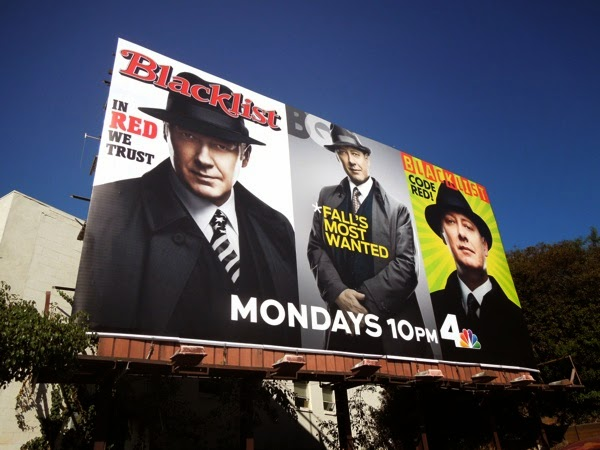 Blacklist season 2 magazine cover billboard