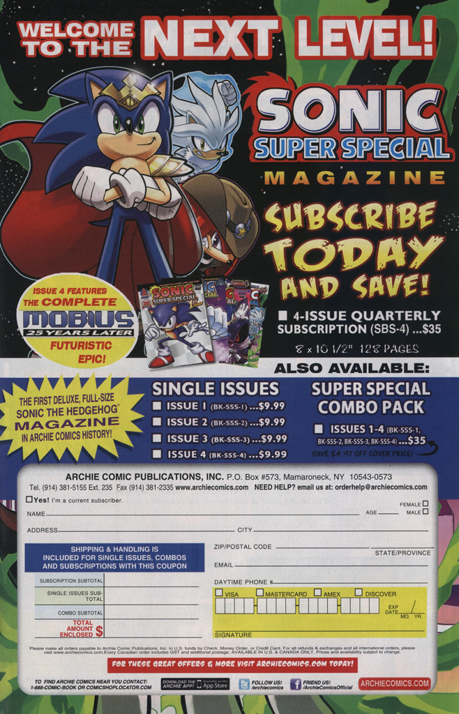 Read online Sonic The Hedgehog comic -  Issue #239 - 25