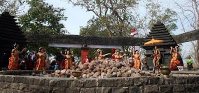 Kayangan Api Bojonegoro, The Everlasting Flame, everlasting, fire, beautiful fire, beautiful place, trip to Indonesia