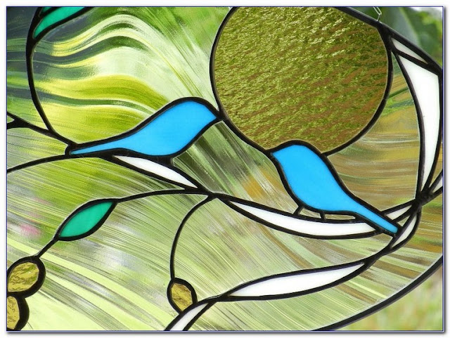 Making A Stained GLASS WINDOW craft