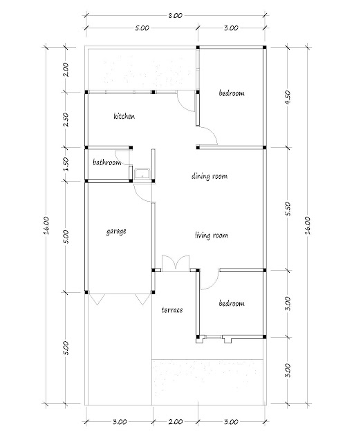 small house plan 09