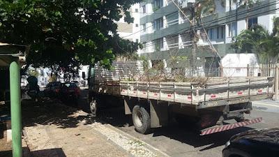Ação da Prefeitura no Morro das Vivendas