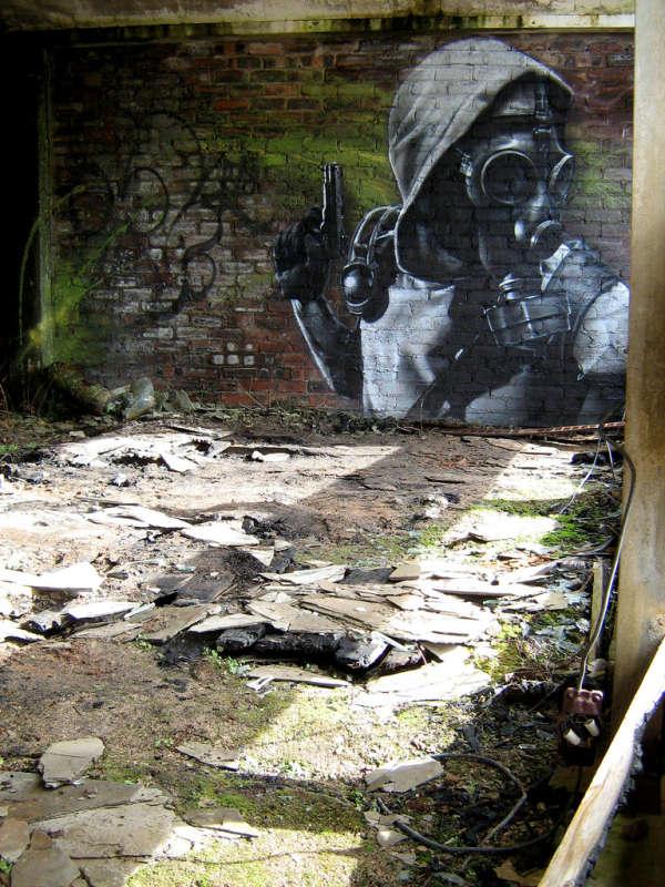 SmugOne - рисунки на стенах 5