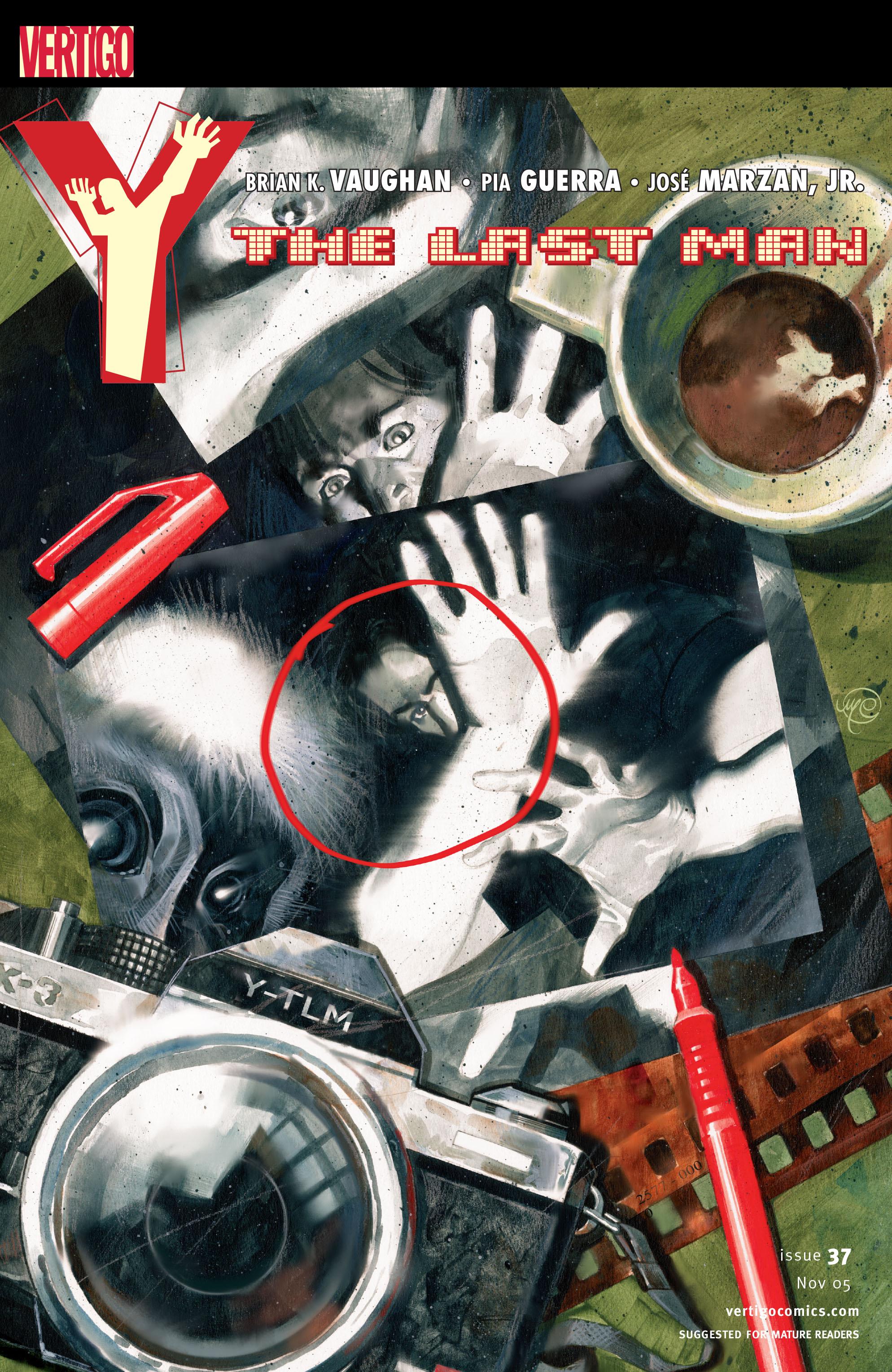 Y: The Last Man (2002) 37 Page 1