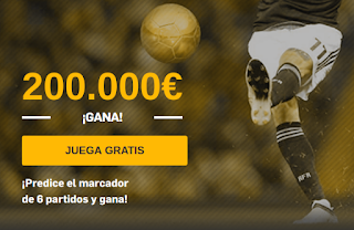 betfair promocion Golden Goals