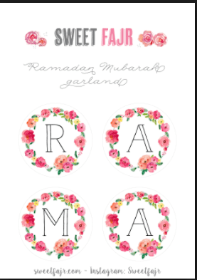 Ramadan Decorations Printable