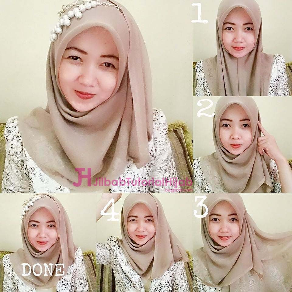 Tutorial Hijab Segi Empat Simple 2017 Tutorial Hijab Paling Dicari