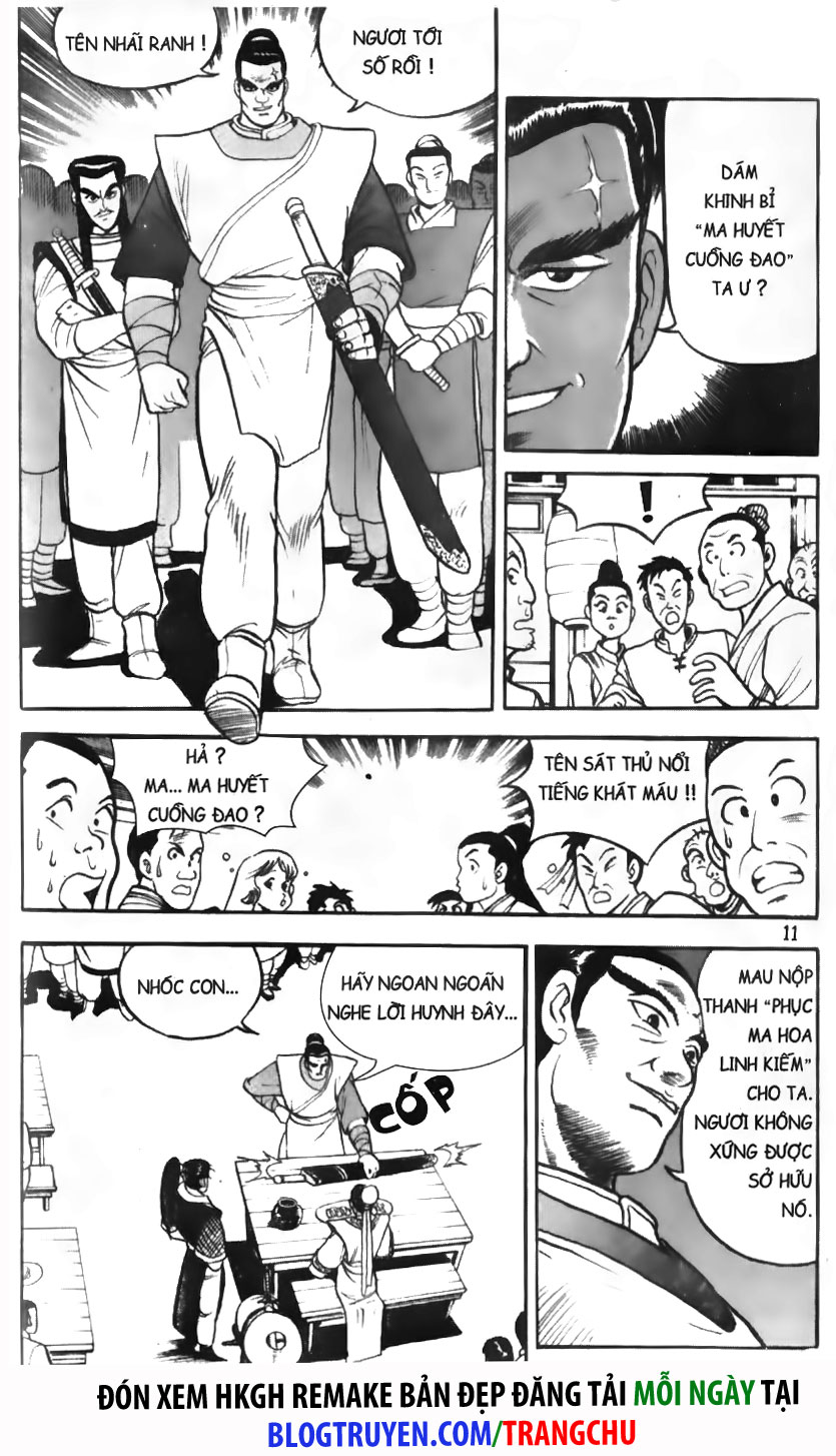 Hiệp Khách Giang Hồ Chap 001