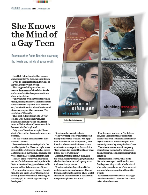 Blog Author Profile Teen 10