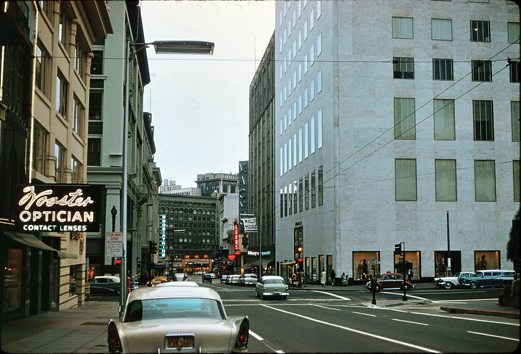 Wonderful Color Photographs Of Streets Of San Francisco In