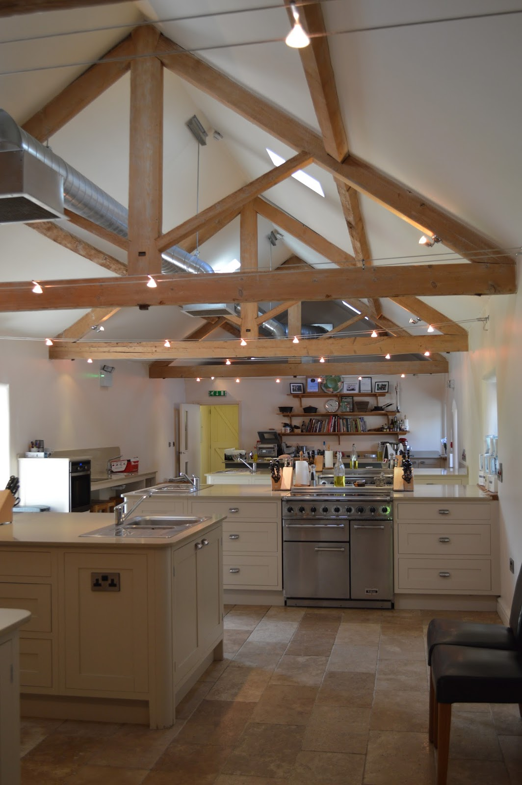 inside brompton Cookery School