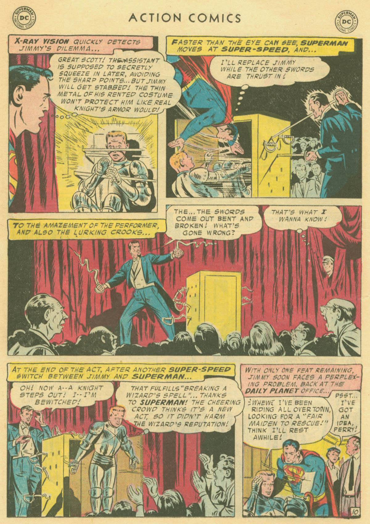 Read online Action Comics (1938) comic -  Issue #231 - 12