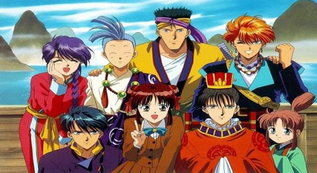 Rekomendasi Anime Yang Mirip Inuyasha - Fushigi Yuugi