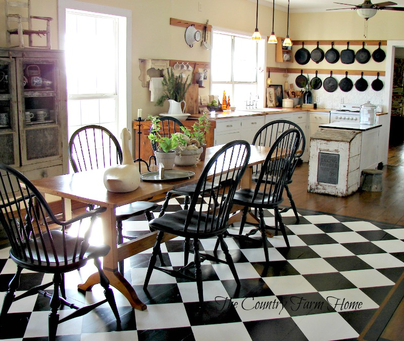 The country farm home farmhouse kitchen color trends for 2016 for Trend country