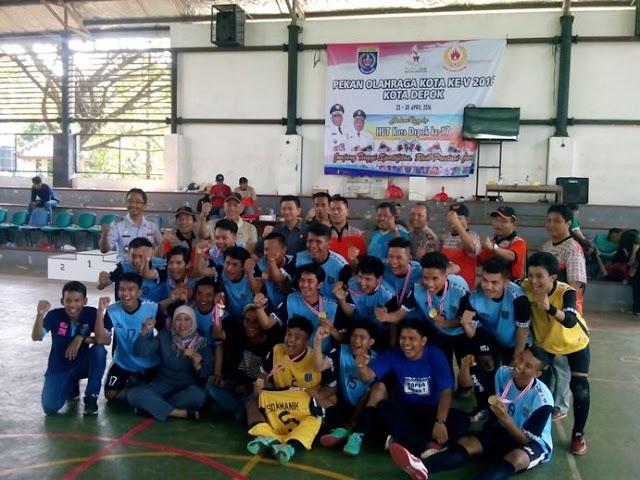 Depok Siapkan Bibit Atlet Futsal Jelang Porda Jabar