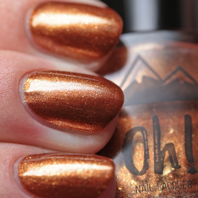 3 Oh! 7 Nail Lacquer Pumpkin Spice