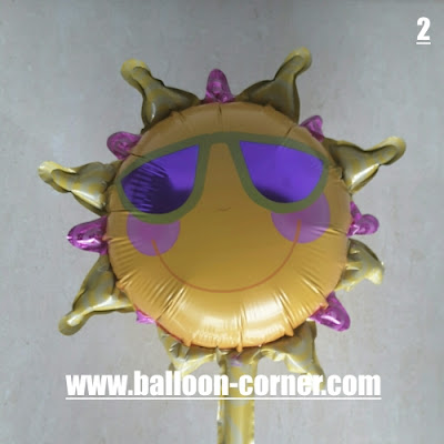 Balon Foil Seri SUN EMOJI Mini