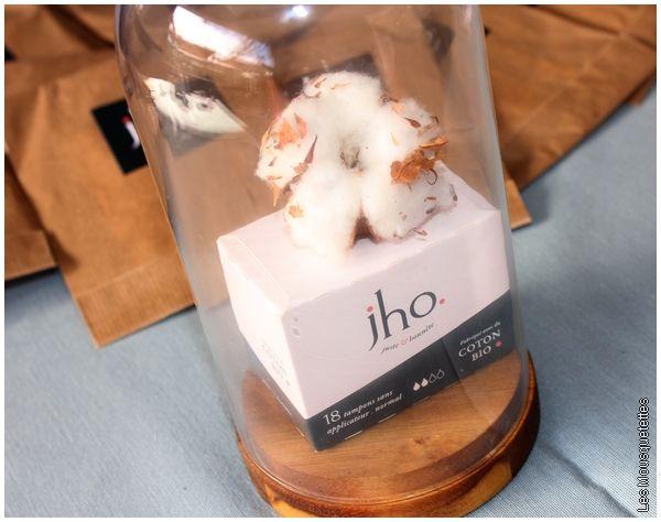 JHO, la nouvelle marque de protections hygiéniques en coton bio ! Beauty Party Marseille