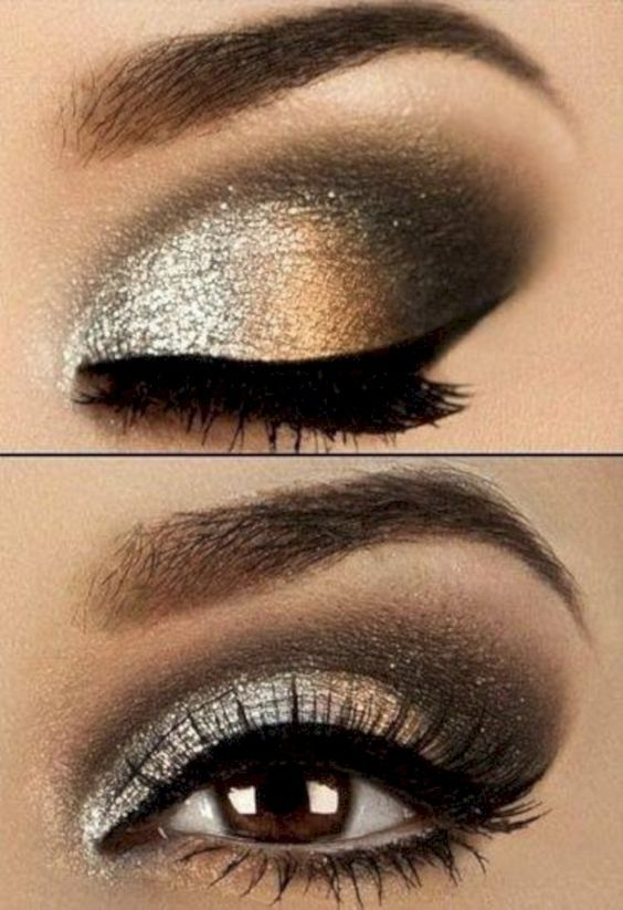 40 Simple but Nice New Year's Eve Make Up Ideas