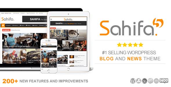 تحميل Sahifa v5.6.7 أفضل قالب وردبرس 2018