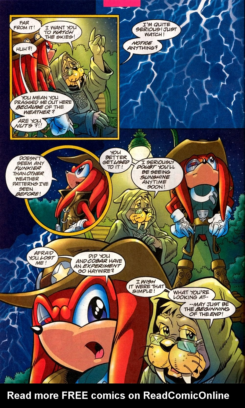 Read online Sonic The Hedgehog comic -  Issue #133 - 26