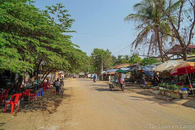 Aux abords de la Sérénité Guesthouse - Siem Reap - Cambodge