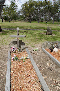 graves of aborigines in Melbourne Woodland Historic Park