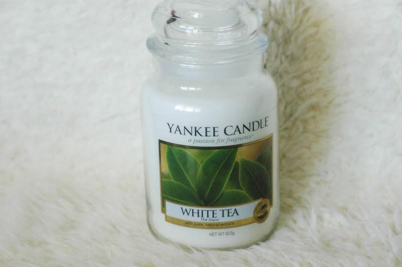 Yankee Candle - White tea