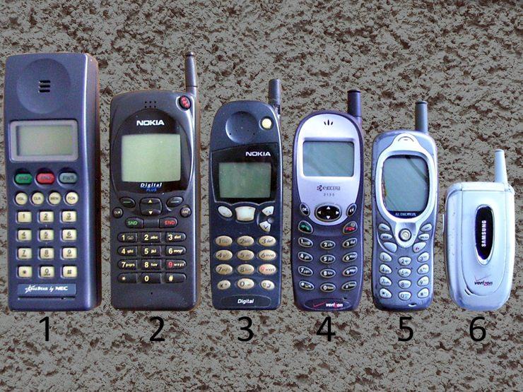 6- Eski Tuşlu Telefonlar