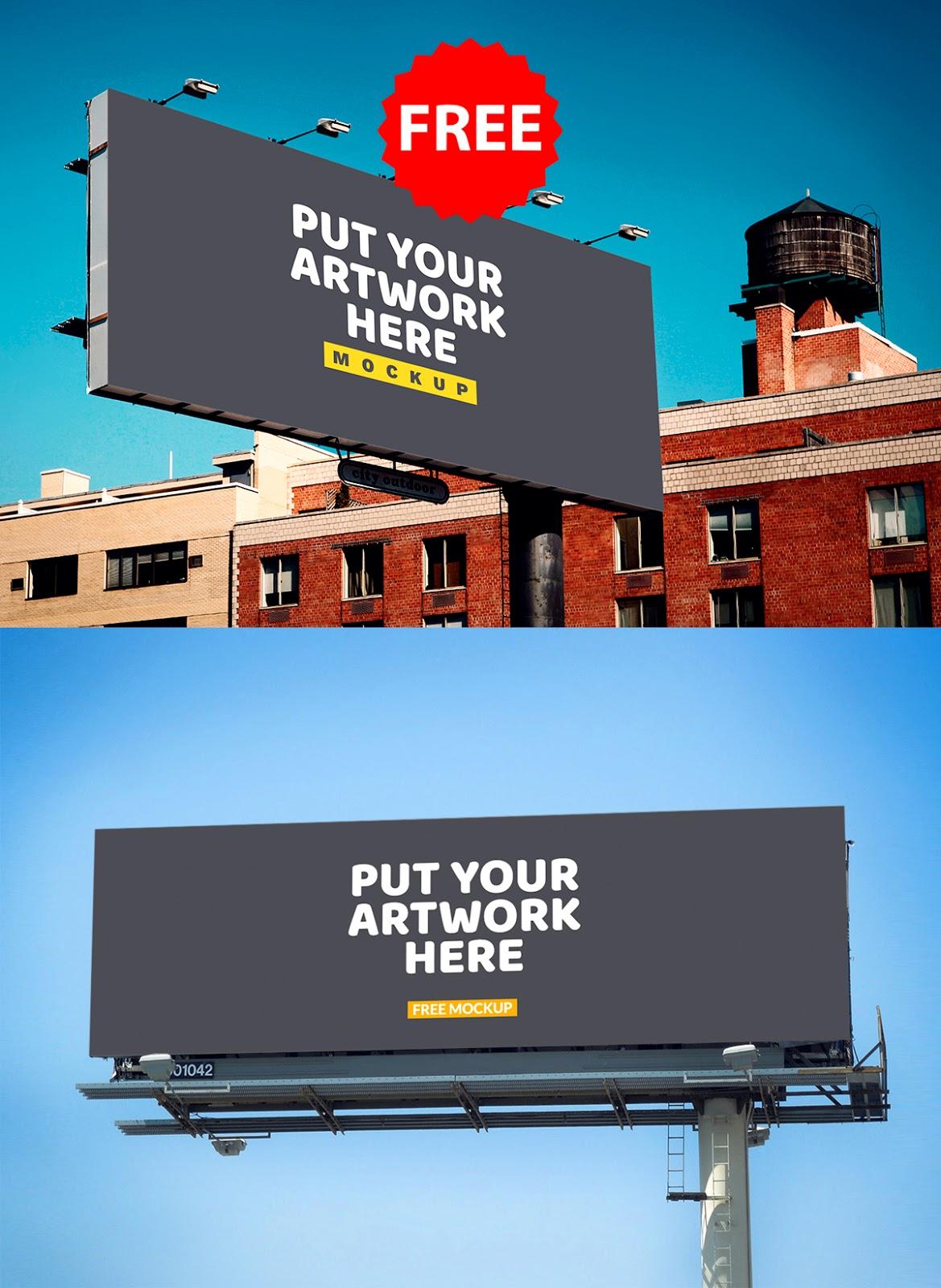 Free Billboard Mockups, billboard mockups psd free