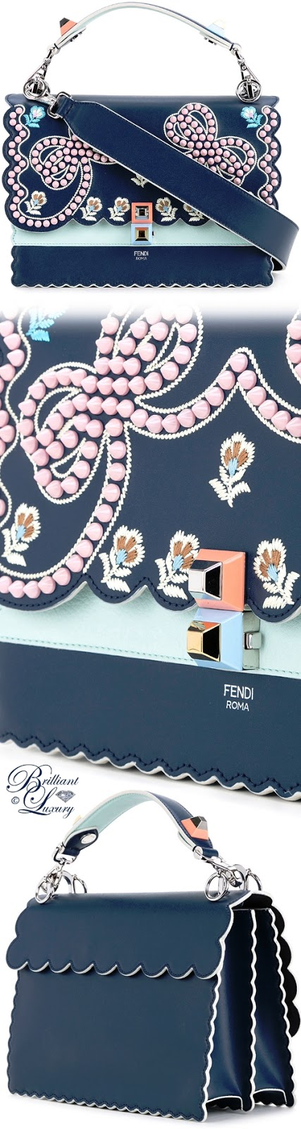 Brilliant Luxury ♦ Fendi Kan I Shoulder Bag