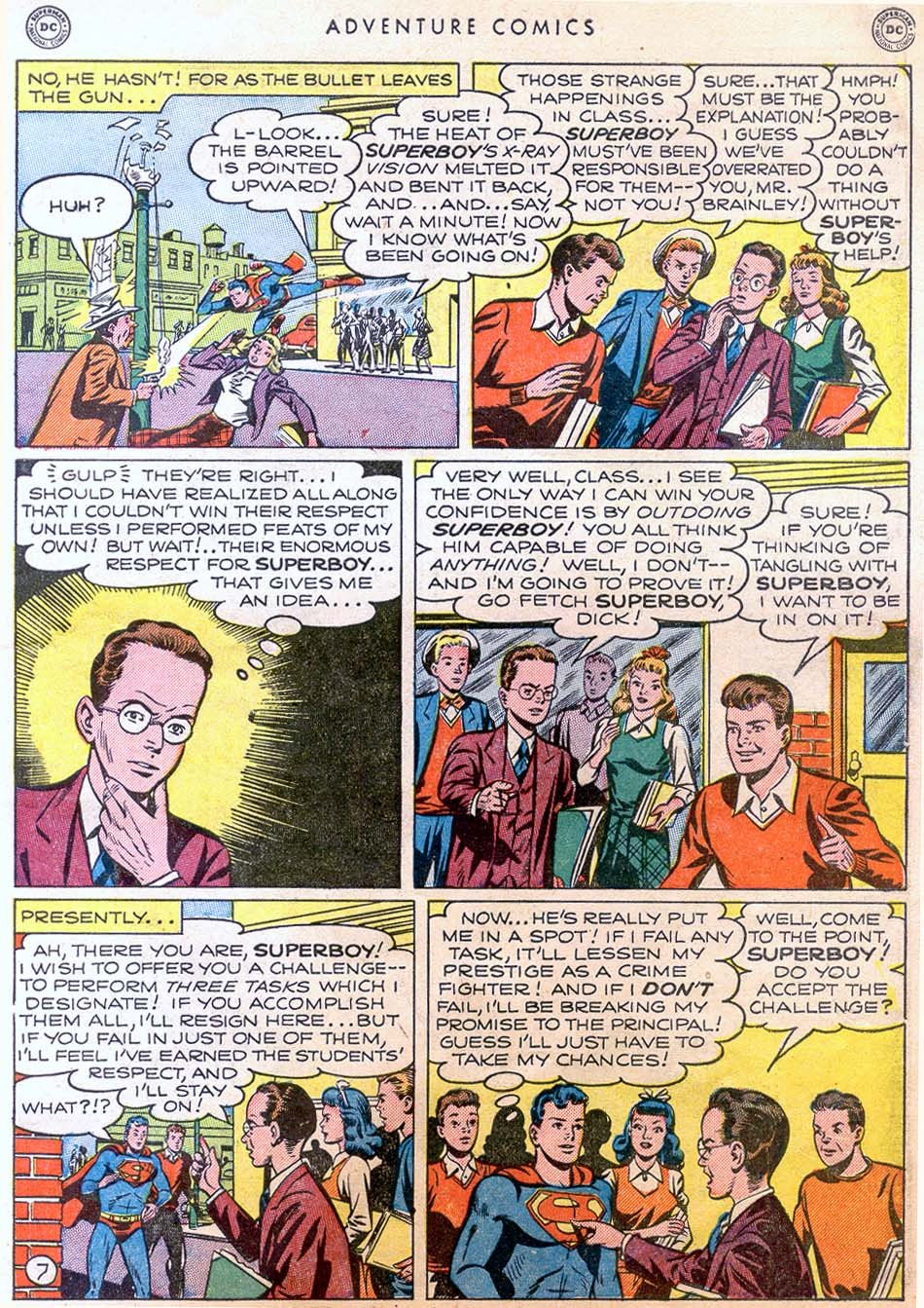 Read online Adventure Comics (1938) comic -  Issue #158 - 9