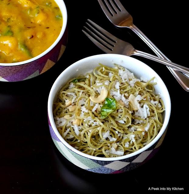 Coconut Edamame Spaghetti ~ Day 130