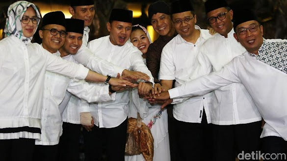 AHY dan 8 Kepala Daerah Bertemu di Bogor, Demokrat: Mereka The Next Leaders