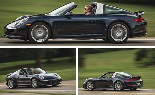 2017 Porsche 911 Targa 4 PDK Automatic Redisign