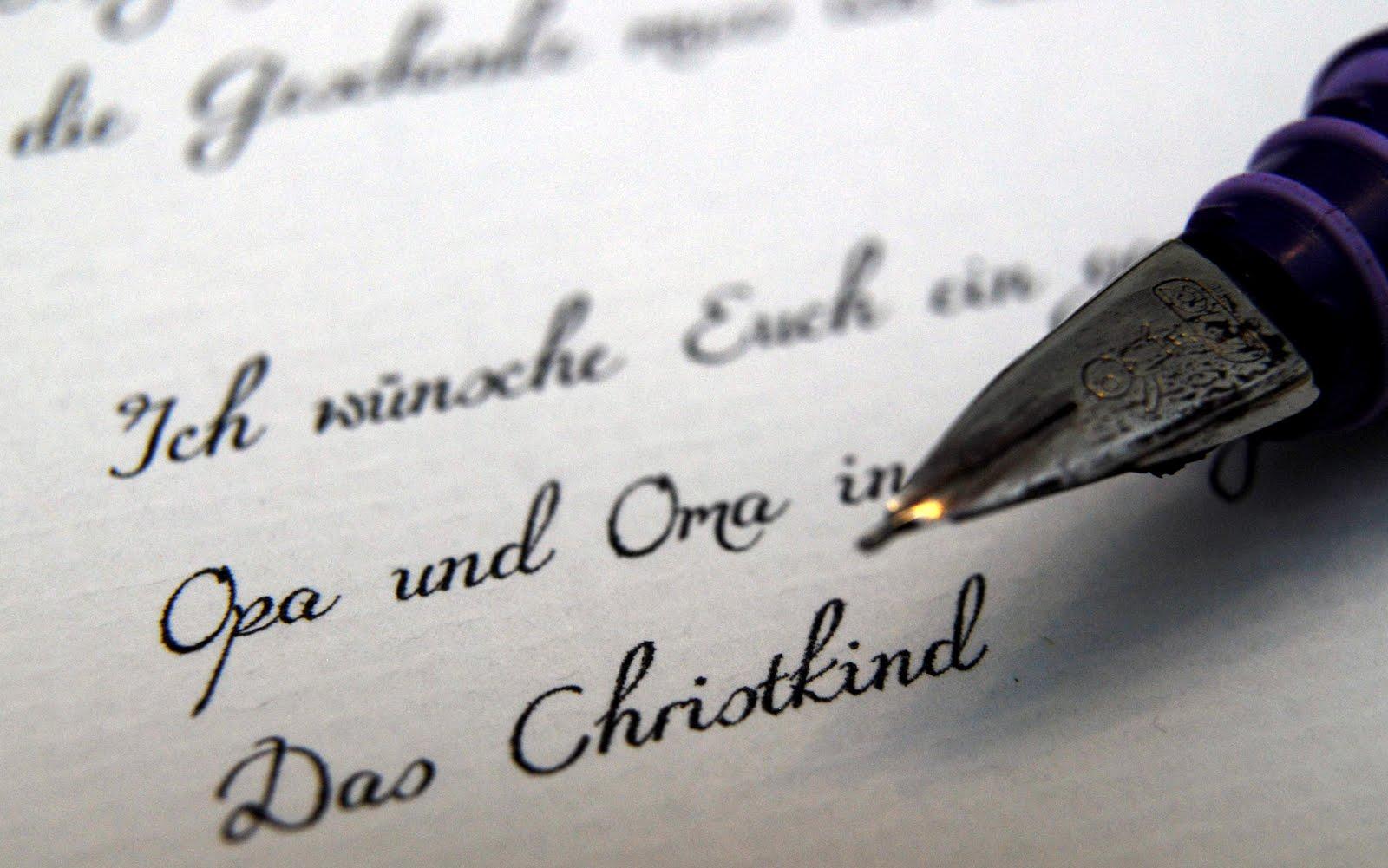 Schone Dinge Aus Papier Brief Vom Christkind