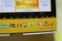 Sicherheit: Laser-Entfernungsmesser, Jetery Digital Laser Distanzmessgerät Messung von Distanz, Flächen, Volumen|+/-2mm Messgenauigkeit|Laser Distanzmesser m/in/ft IP54 Schutz mit LCD Display, Wasserwaage, Batterien, Schutztasche (40M)