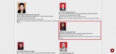 Mutiara Sarumpaet Sani ini juga menjadi caleg Partai Gerindra
