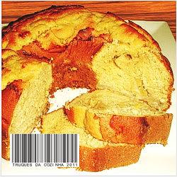 bolo de banana e leite condensado