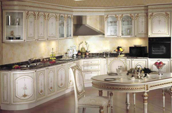 Luxury Italian Kitchen Decor 2018   Italian Style Kitchen Furniture
