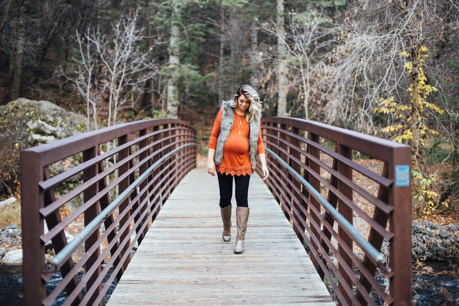 Fall Outfit, Fur Vest, Choies, Utah Fashion Blogger