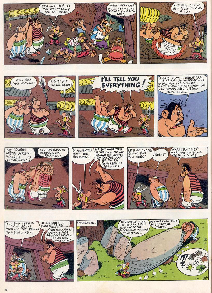 Read online Asterix comic -  Issue #2 - 32