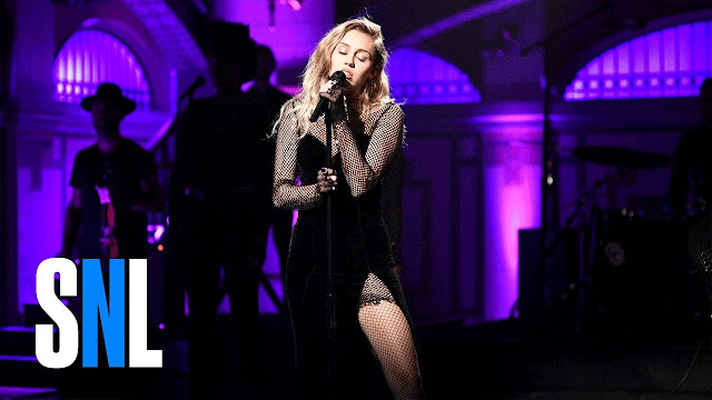 Miley Cyrus Performs 'Bad Mood' & 'I Would Die for You' on SNL