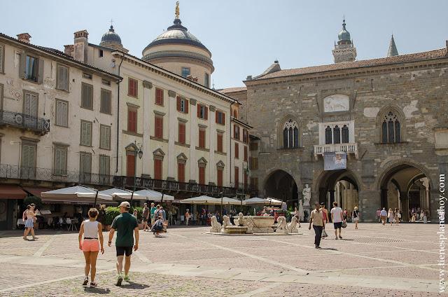 Palazzo della Ragione Bergamo que visitar