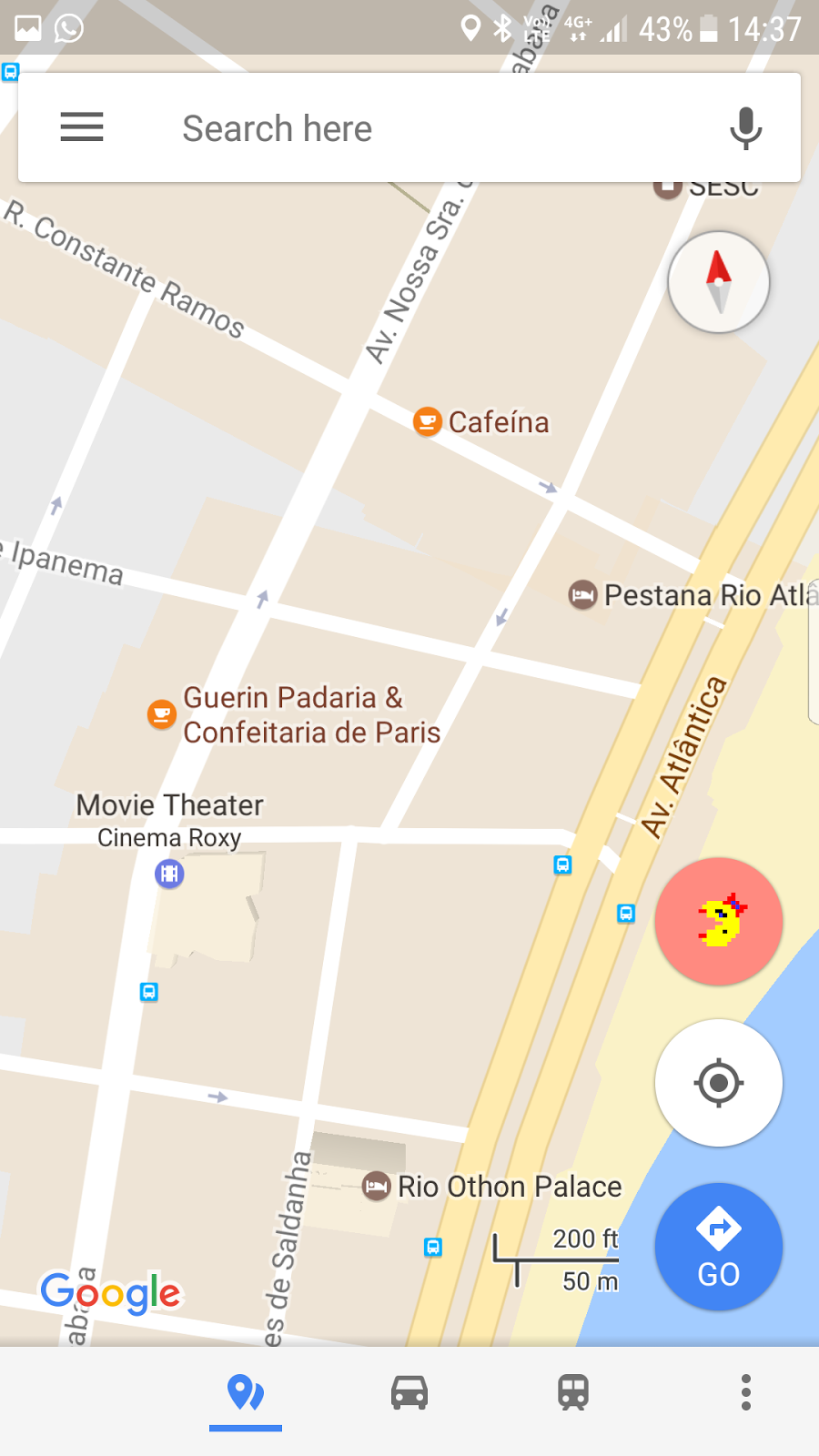 Pac-Man on Google Maps? - According to Mimi