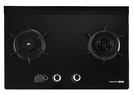 Sakura 3D Double Ring with Twister Flame Built-in Hob