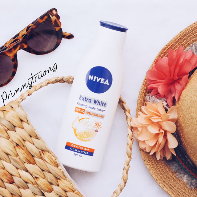 Review Nivea Extra White Firming Body Lotion, kem chống nắng body, kem chống nắng cho cơ thể, nivea, nivea extra white, nivea lotion, kem chống nắng giá rẻ