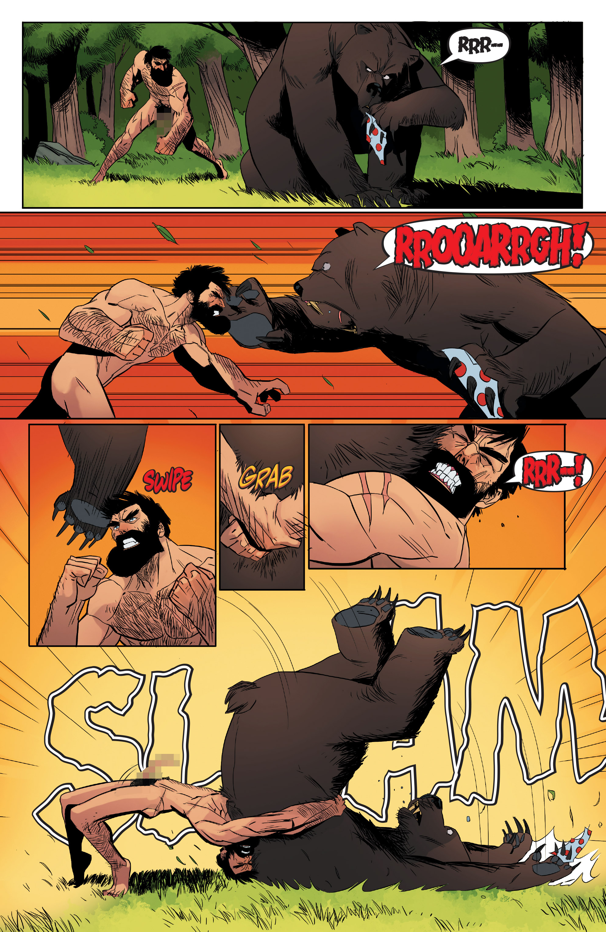 Read online Shirtless Bear-Fighter! comic -  Issue #1 - 8