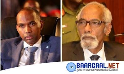 Xog cusub: Khilaaf bilo jirsaday oo u dhexeeyay Kheyre & Jawaari oo xal laga gaaray